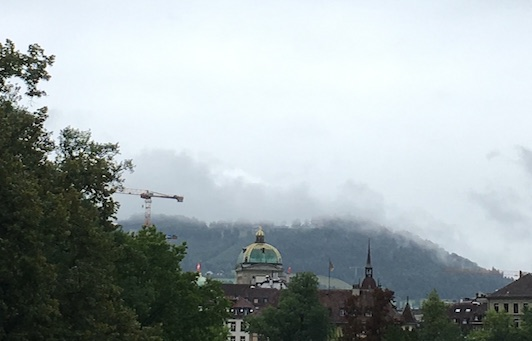 Rainy Sunday in Bern.